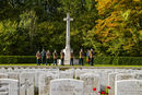 Connaught Cemetery, Thiepval, Somme.