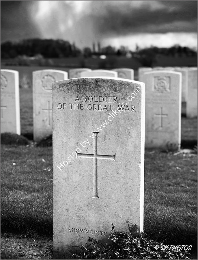 Courcelette - A Soldier of the Great War