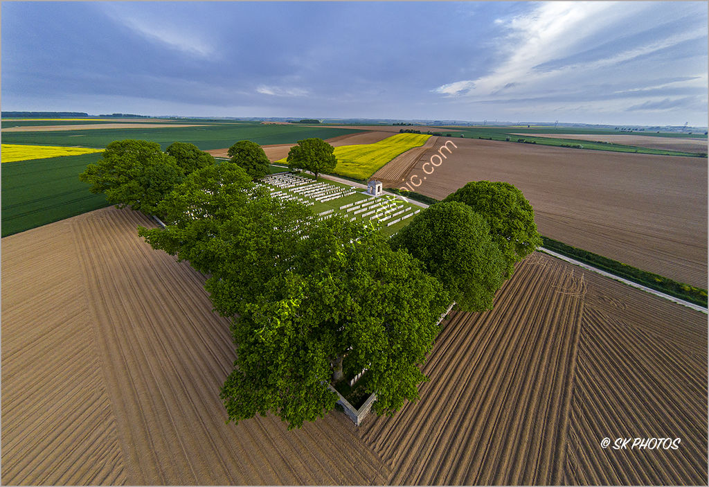 Courcelette British Cemetery, Somme.