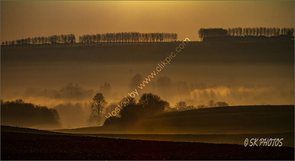 Dawn, Ancre Valley, Somme.