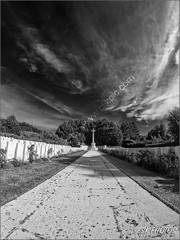Doullens Cemetery Extension No 1.