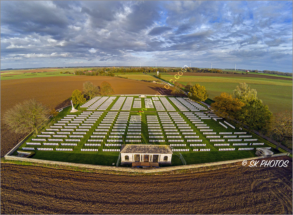 Guard's Cemetery, Lesboeufs.