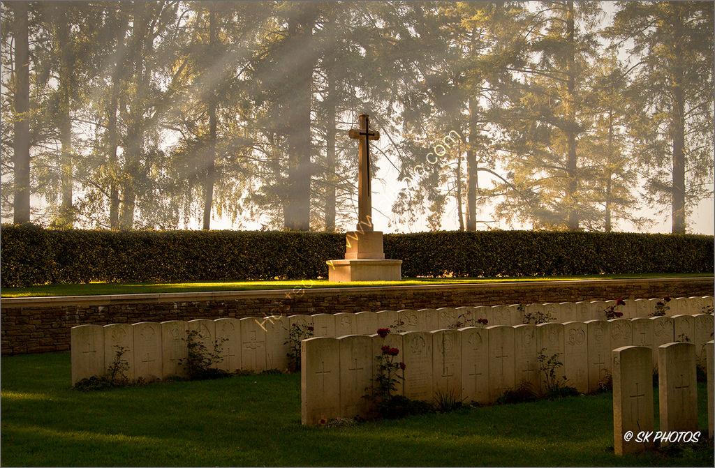 Hawthorn Ridge Cemetery No. 2, Auchonvillers, Somme.