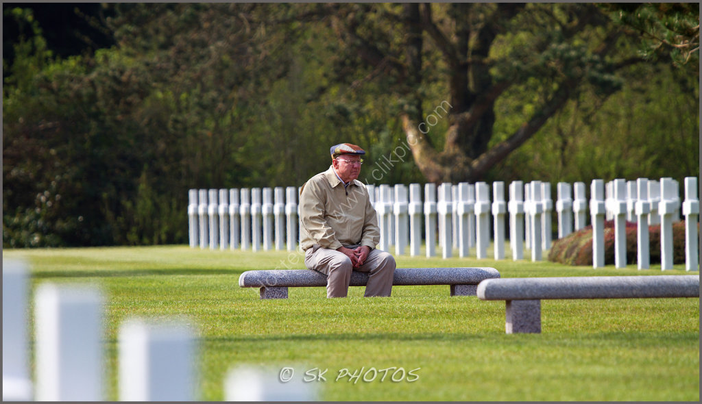 Normandy American Cemetery.
