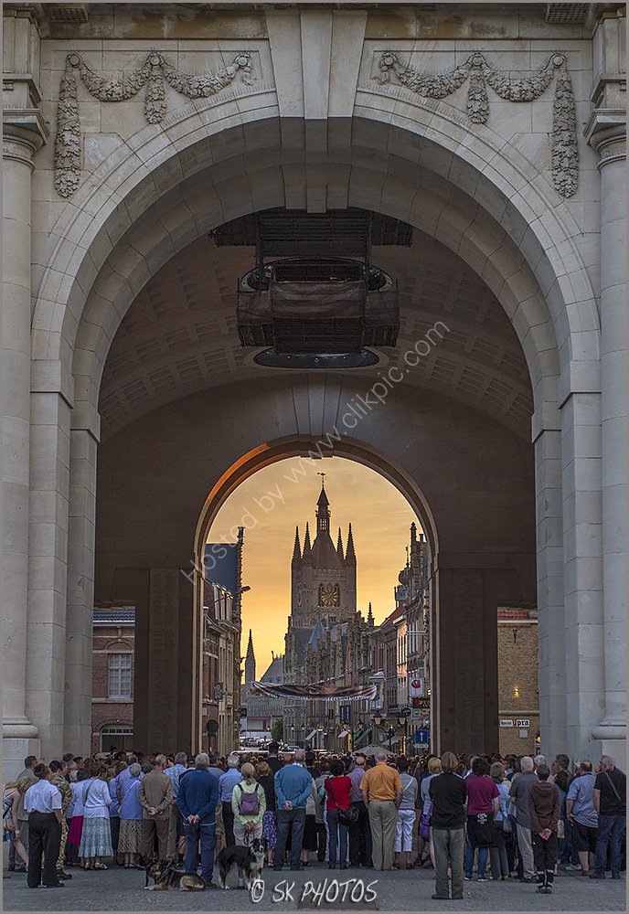 Ypres, The Menin Gate.