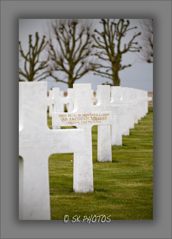 Somme American Cemetery.