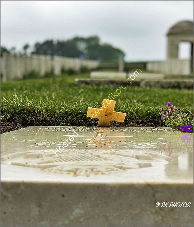 Mill Road Cemetery, Thiepval, Somme.