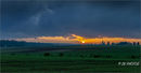 Somme sunset - The Green Fields of France.