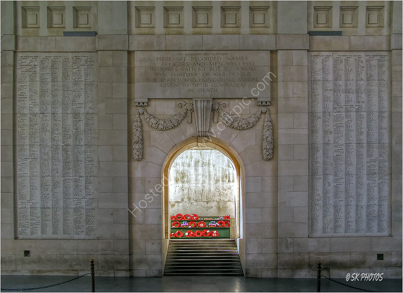"""He is not missing. He is here."" - The Menin Gate, Ypres."