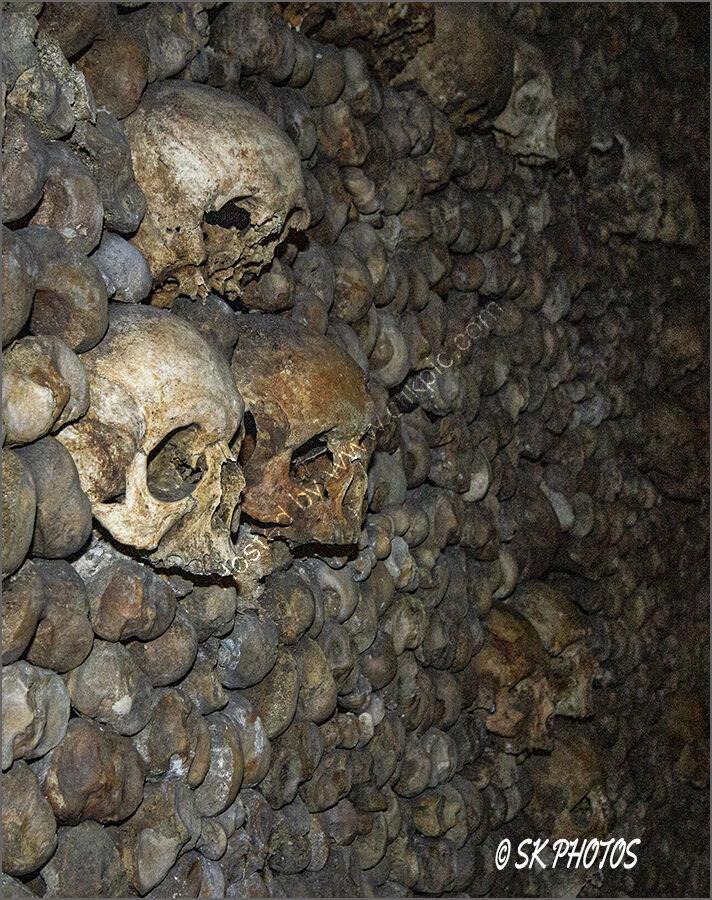 Catacombes de Paris.