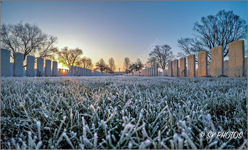Warlencourt British Cemetery.