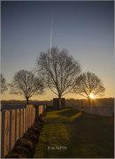 Early morning...Hooge Crater Cemetery, West-Vlaanderen.