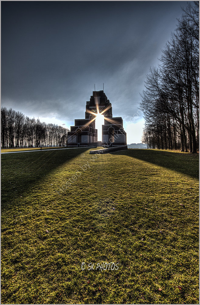 The Thiepval Memorial - The Missing of the Somme.