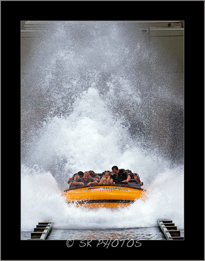 Splash! Jurassic Park.