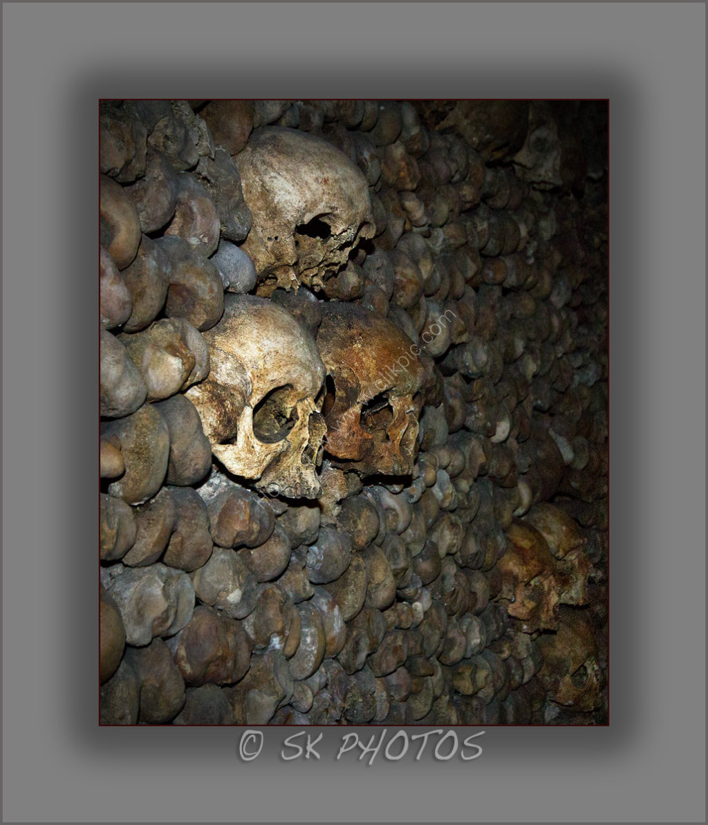 Catacombes de Paris.