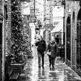 Elderly couple having a stroll IMG 1134
