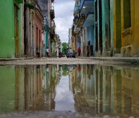 Cuban reflection