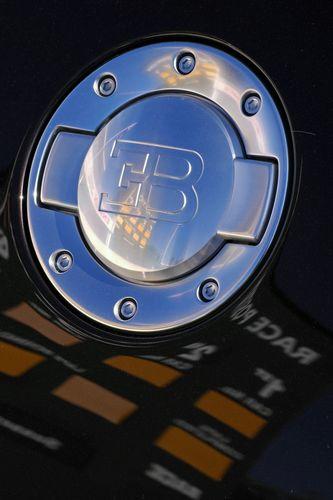Bugatti on track
