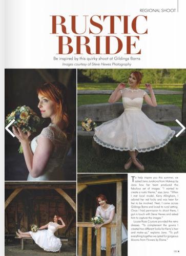 Surrey Wedding magazine - page 1