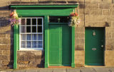 Green door - Alnwick