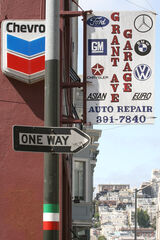 Street signs - San Francisco