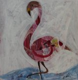 Pink Flamingo SOLD