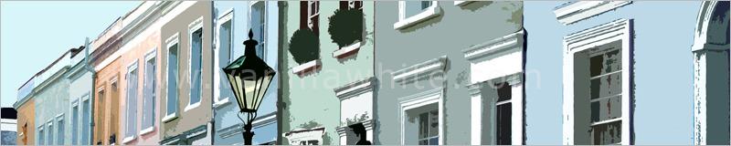 Lamplight in Notting Hill