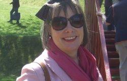 Sue in sunglasses