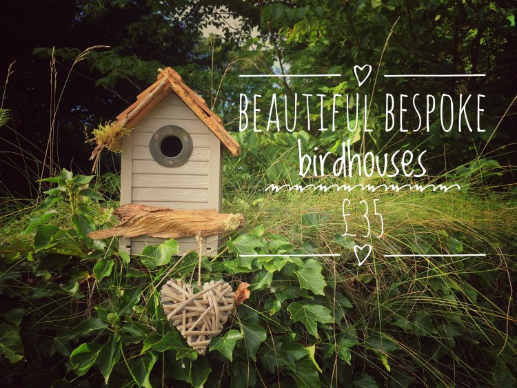 Home is Where the Heart Is bespoke birdhouse