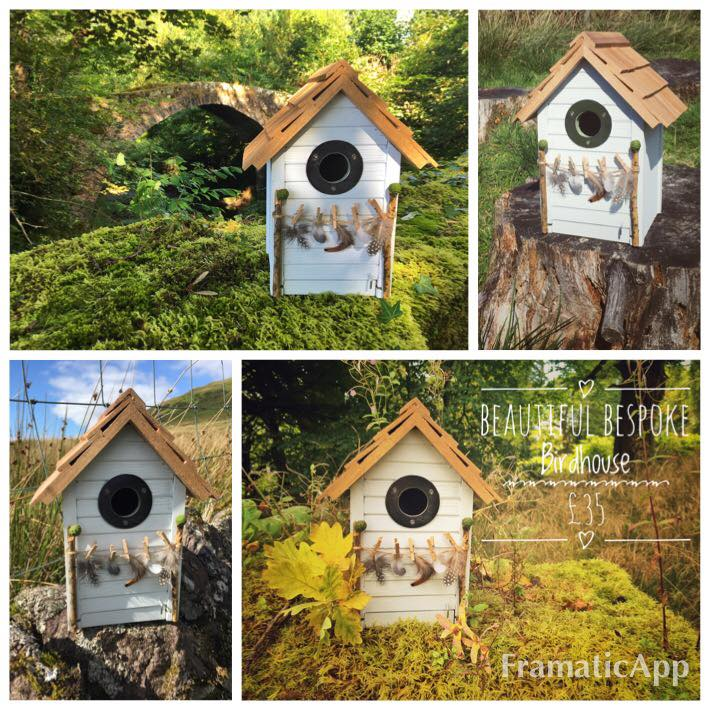 Washday Monday bespoke birdhouse