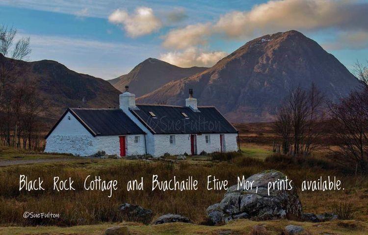 Black Rock Cottage & Buachaille Etive Mor