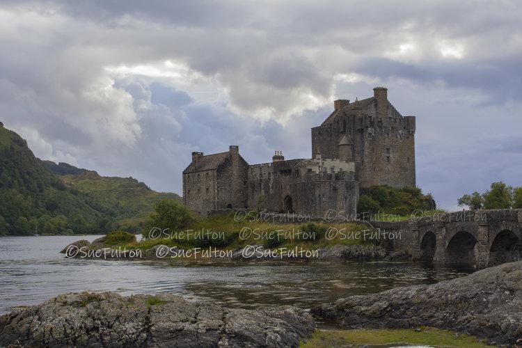 Eilean Donan Castle, Dorne, near Kyle of Lochalsh
