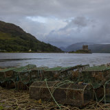 Eilean Donan Castle and the Lobster Pots