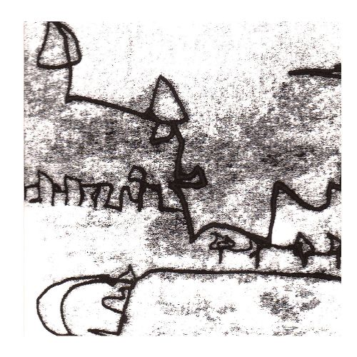 Labyrinth of Liberty6 -monoprint