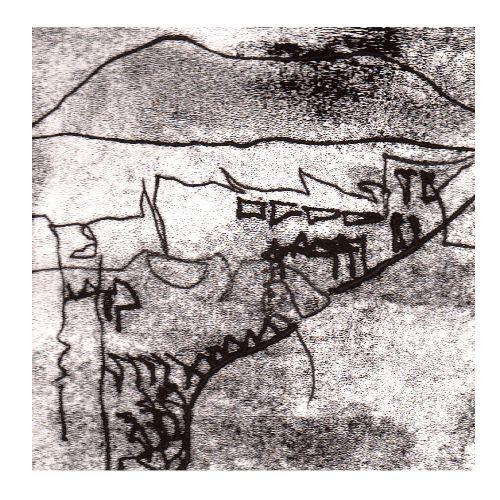 Labyrinth of Liberty -monoprint