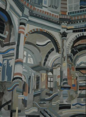 Venetian Interior, Thomas Plunkett RWS