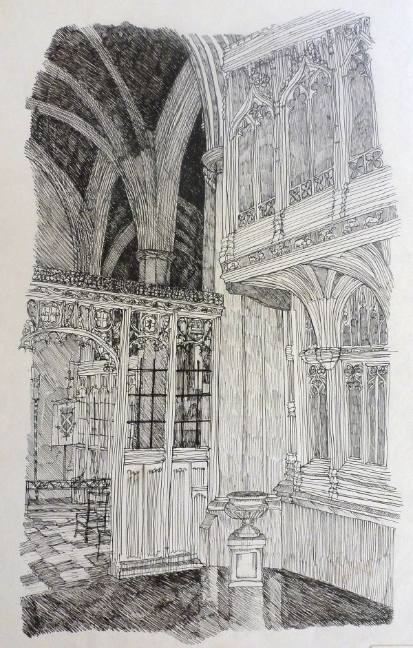 The Rear of The Watching Loft, St. Albans Cathedral             (This Page is being updated)