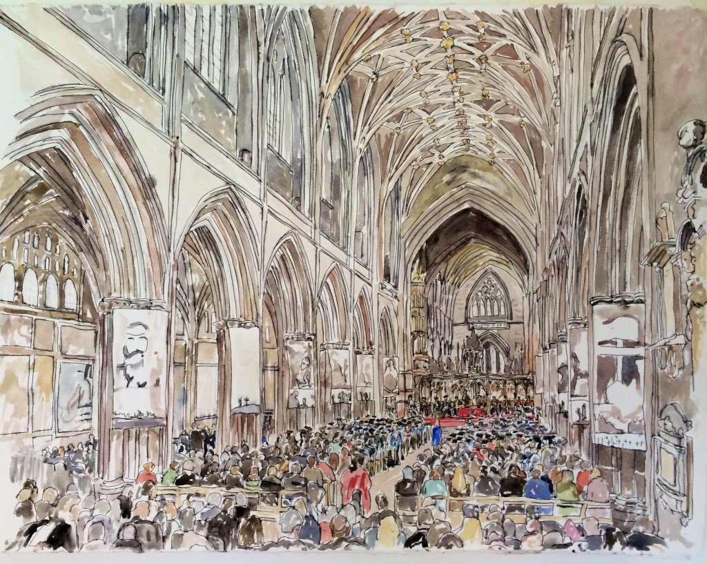 University of Chester, 175th Anniversary Graduation Ceremony, Chester Cathedral, 2015