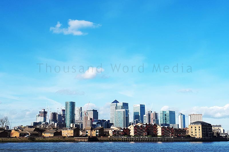 City Skyline  Architectural Photography