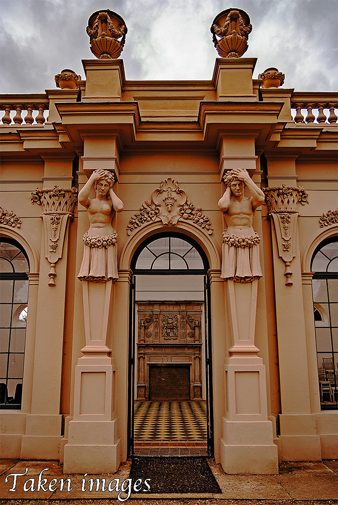 Entrance to The Orangery