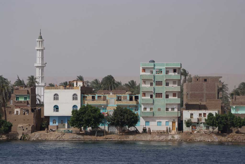 Luxor from the Nile