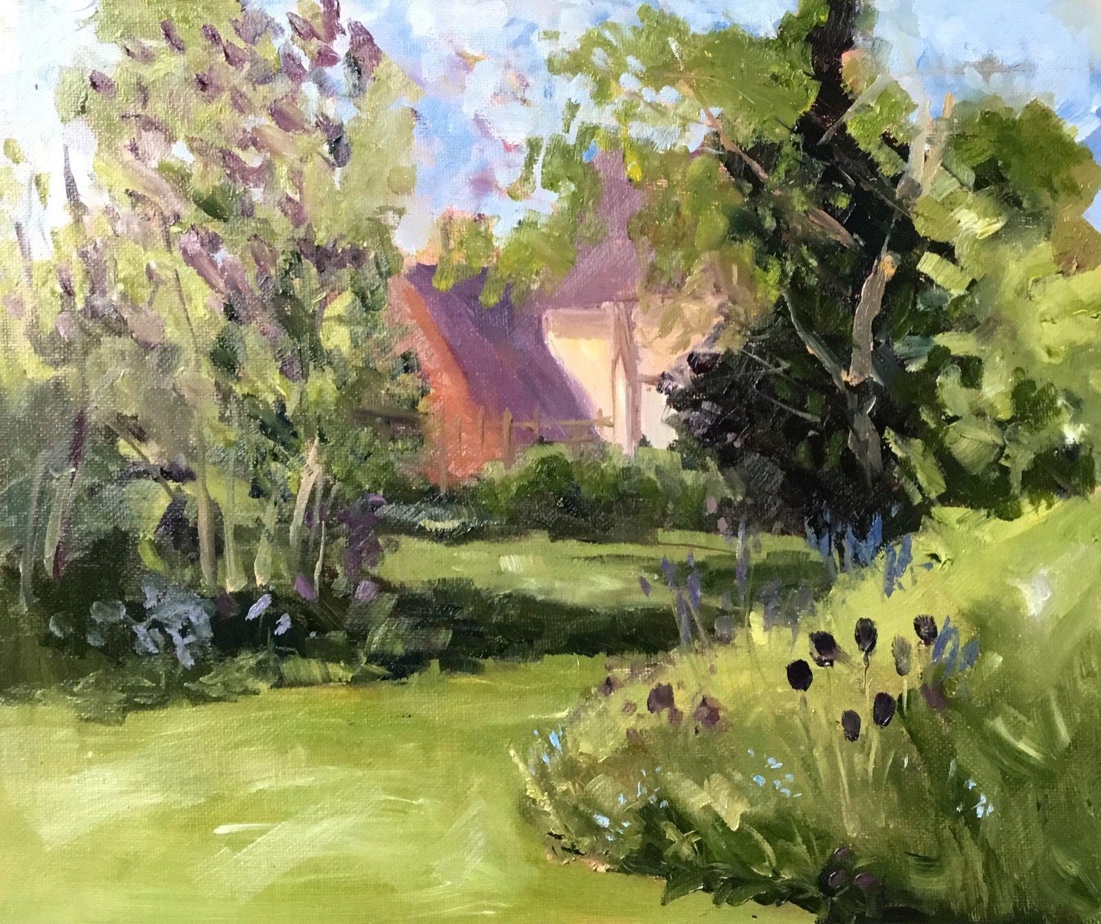 Kathy's Garden At Sibford.