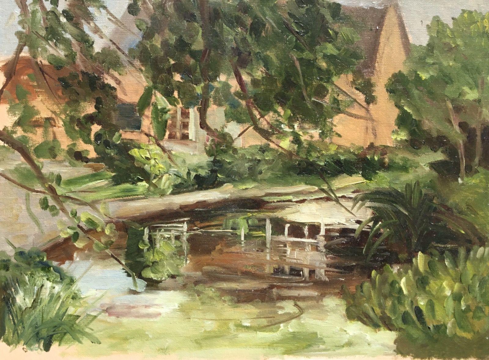 The Pond, Sibford.