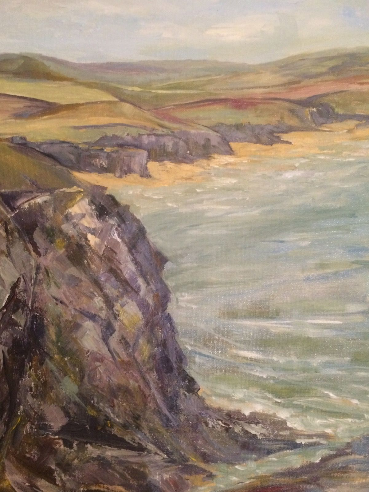 Coastal Path ( Trevone to Harlyn Bay)