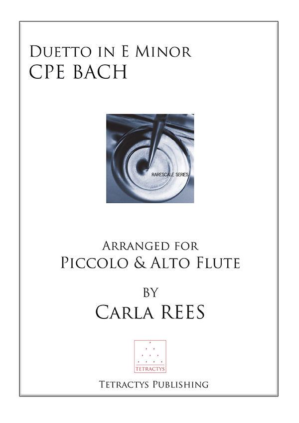 CPE Bach - Duetto in E minor Wq. 140