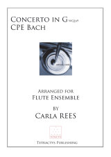 CPE Bach - Concerto in G Wq169