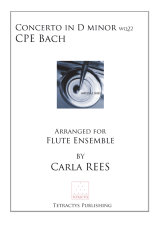 CPE Bach - Concerto in D minor Wq22