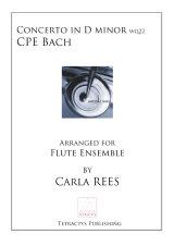 CPE Bach - Concerto in D minor Wq22