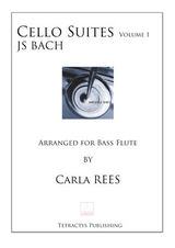 JS Bach  - Cello Suites Vol 1 BASS FLUTE