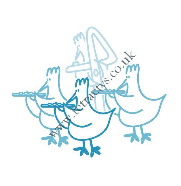Chicken Flute Choir